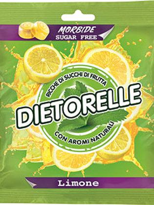סוכריות גומי DIETORELLE (דיאטאורל)בטעם לימון ללא סוכר פרווה