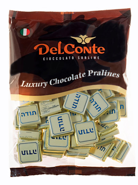 נפוליטן (Delconte) שוקולד פרווה תודה 500 גרם משקולדיס