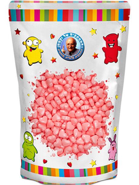 סוכריות  ווקסמן סודה לב ורוד 1.5 קילו