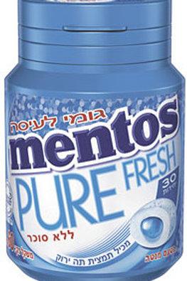 מסטיק מנטוס (mentos) בקבוקון בטעם מנטה