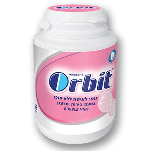 מסטיק אורביט(orbit)בקבוקון בטעם פירות מרענן