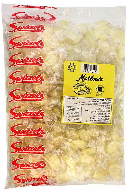 סוכריות מטלוס בטעם לימון 2.5 קילו