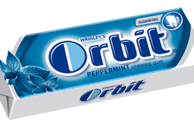 מסטיק  (Orbit) אורביט בטעם מנטה 5 יחידות