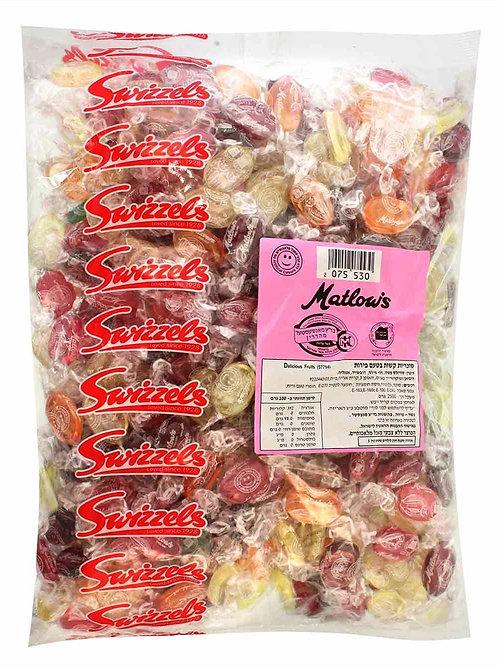 סוכריות מטלוס בטעם פירות 2.5 קילו