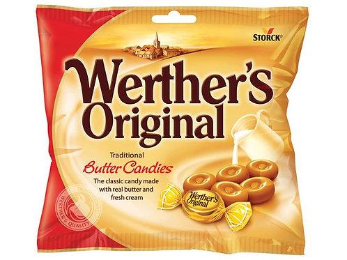וורטרס אורגינל סוכריות חמאה 135 גרם