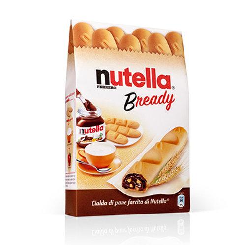 חטיף נוטלה וופל קריספי במילוי קרם אגוזים עשיר(Nutella Bready)