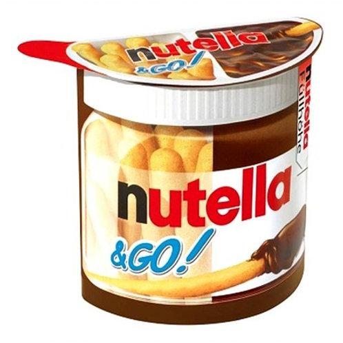 נוטלה מקלות  (nutella to go)