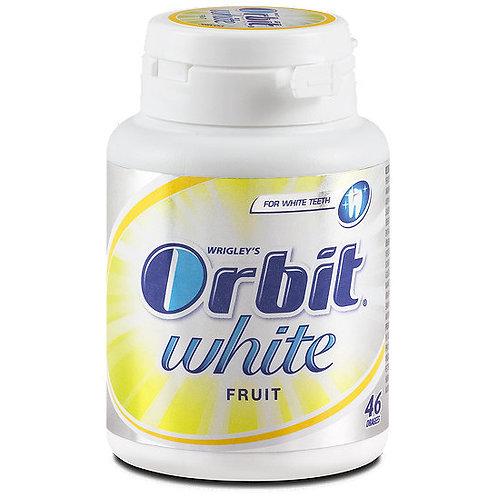 מסטיק אורביט(orbit) white בקבוקון בטעם פירות