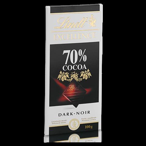 שוקולד לינט מריר 70% מוצקי קקאו