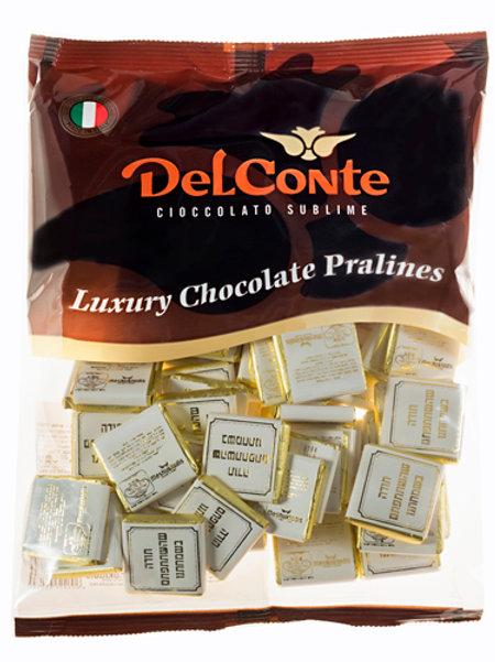 נפוליטן (Delconte) שוקולד פרווה תודה שהישתתפתם בשמחתנו 500 גרם משקולדיס