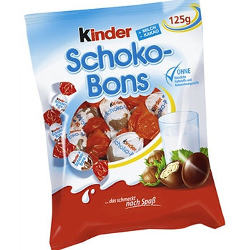 קינדר שוקו בון 125 גרם(Kinder Schoko-Bons)