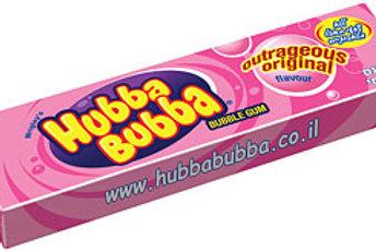 גומי לעיסה אובה בובה(hubba bubba) 3 יחידות