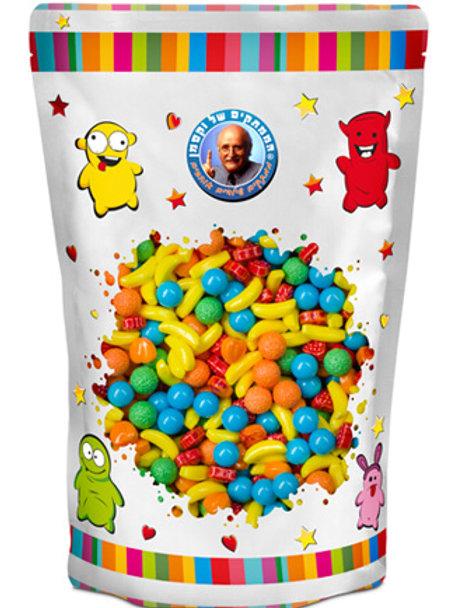 סוכריות  ווקסמן סודה מיקס פירות 1.5 קילו