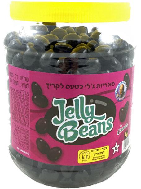 סוכריות ג'לי בינס ליקריץ 1.5 קילו