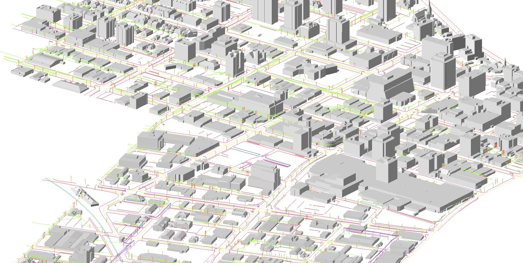 Transit planning from models