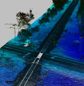 Railway corridor mapping