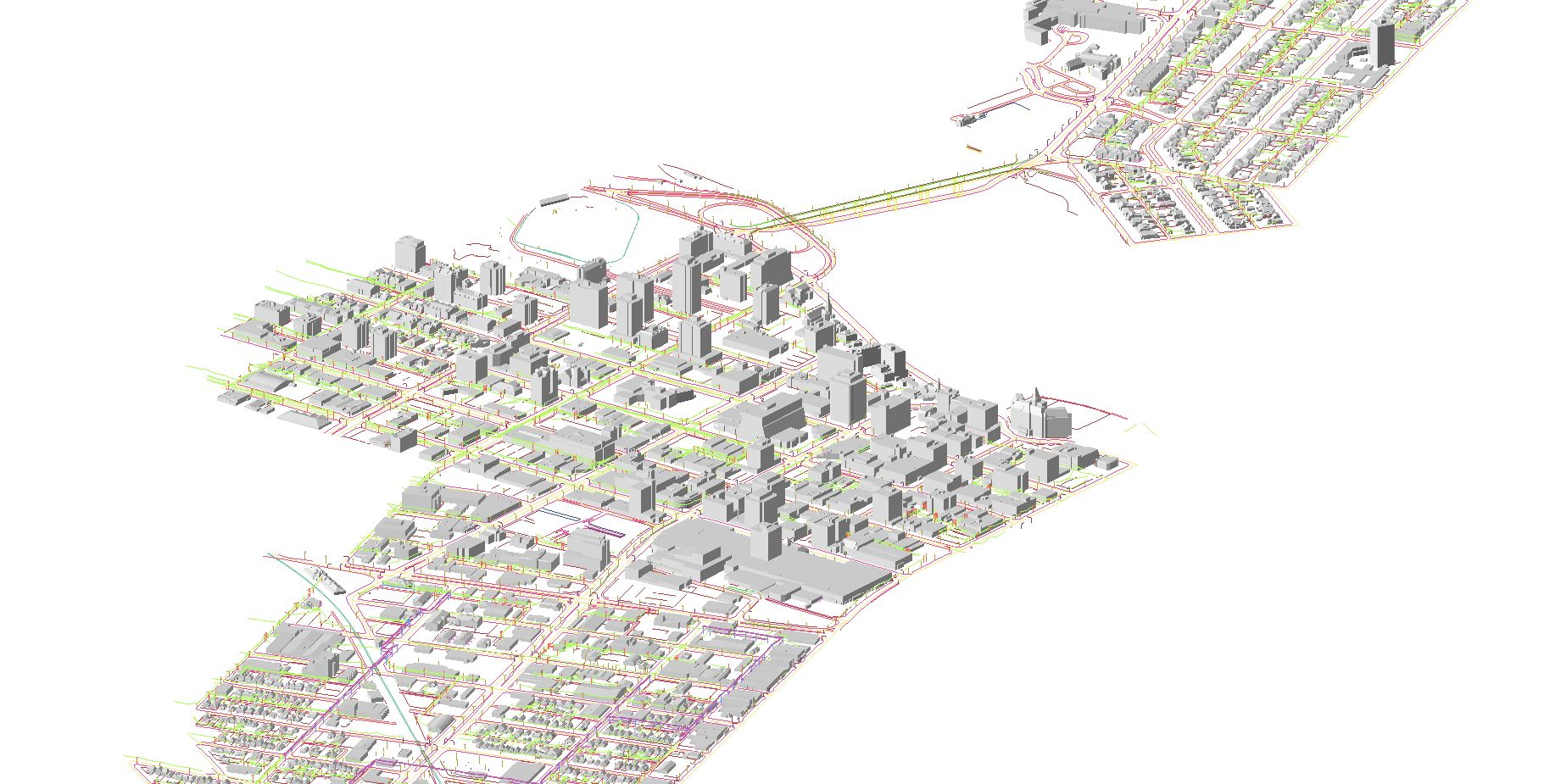 Urban mapping from LiDAR