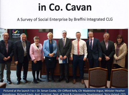 "Launch of Breffni Integrated Social Enterprise Research report ""New Age of Opportunity Dawns"" !"