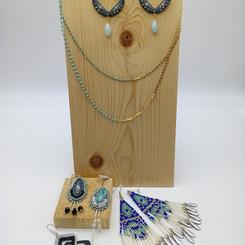 Bijoux en tissage de perles
