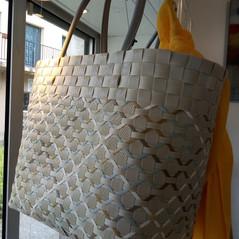 Panier en plastique recyclé