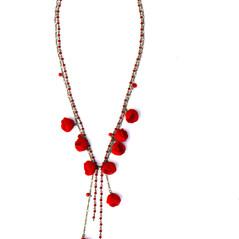 sautoir en perle de soie japonaise, de Popova