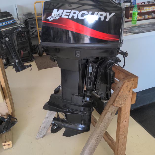 2003 Mercury 60 2 stroke oil injected.