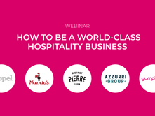 [WEBINAR ON-DEMAND] How to be a world-class hospitality business