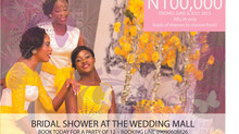 THE WEDDING GURU proud to be a part of this splendid BRIDAL SHOWER offer at THE WEDDING MALL ABUJA.