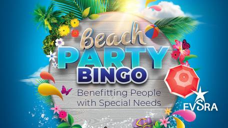 Beach Party Bingo