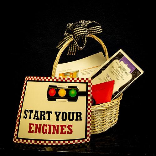 Basket C:  Ready, Set, Go!