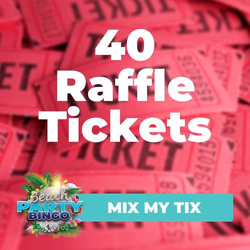 Mix My Tix - 40 Tickets