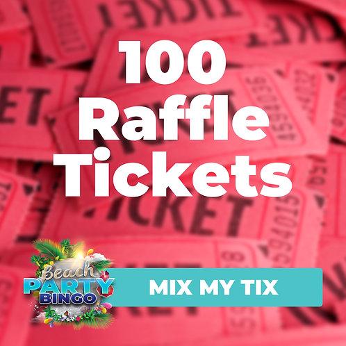 Mix My Tix - 100 Tickets