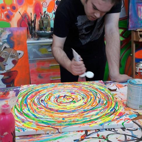 #leminxart #artstudio #artist #painter #