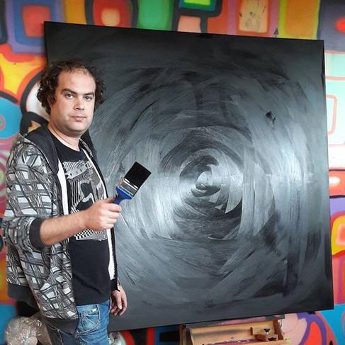 New black oil canvas ._._._._#leminx #le