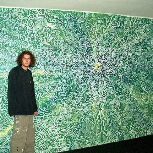 Stena 4x3m  #leminxart #artsy #acid #art