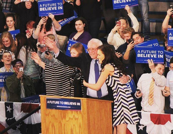 Bernie Rally, Idaho Falls