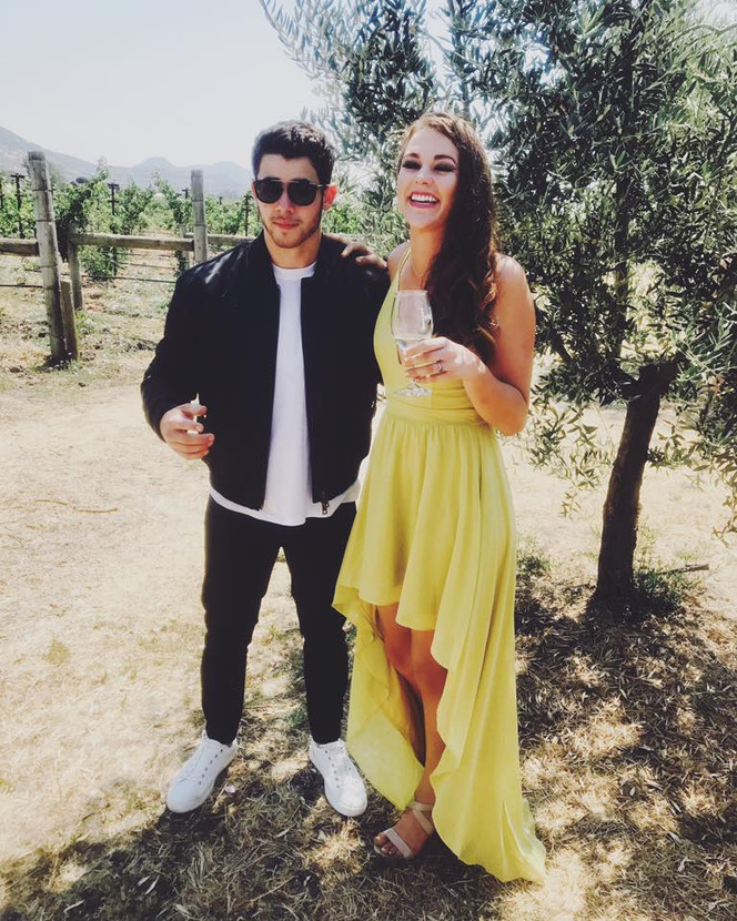 Nick Jonas and Sierra
