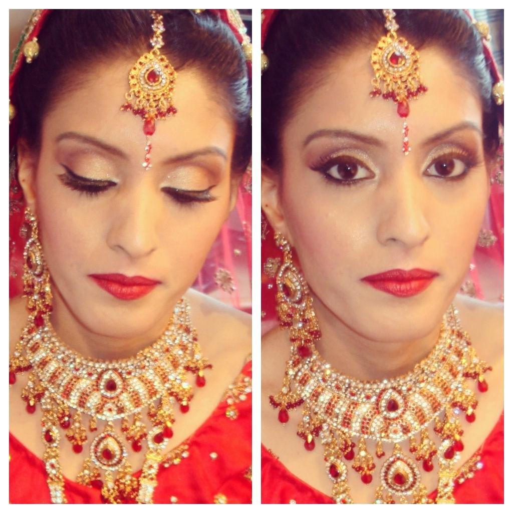 asian indian bridal makeup training courses, asian wedding makeup