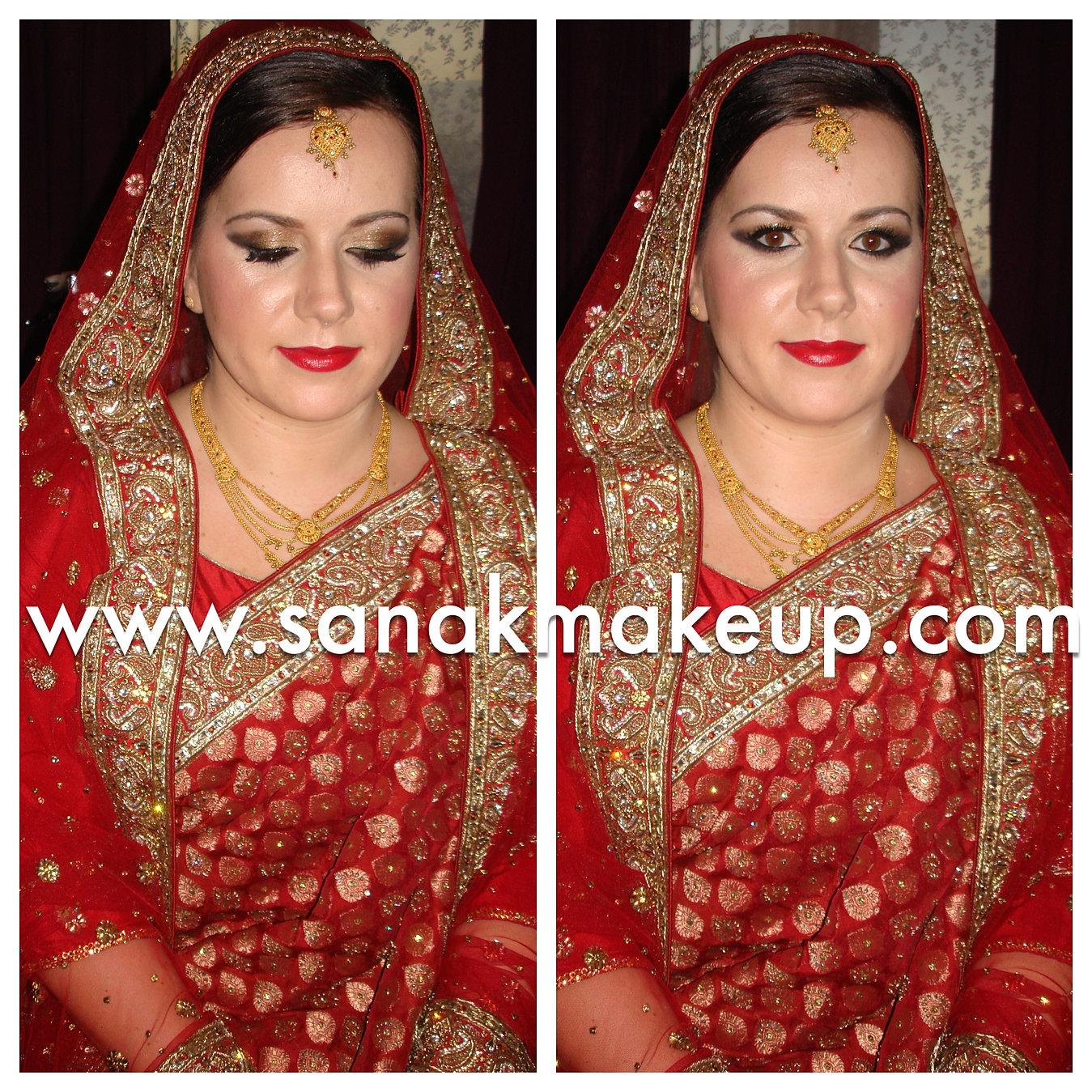 asian bridal makeup artist london | asian bridal makeup courses london