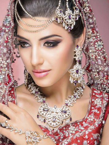 Pakistani makeup in London, Pakistani bridal makeup London, Pakistani makeup artist near me