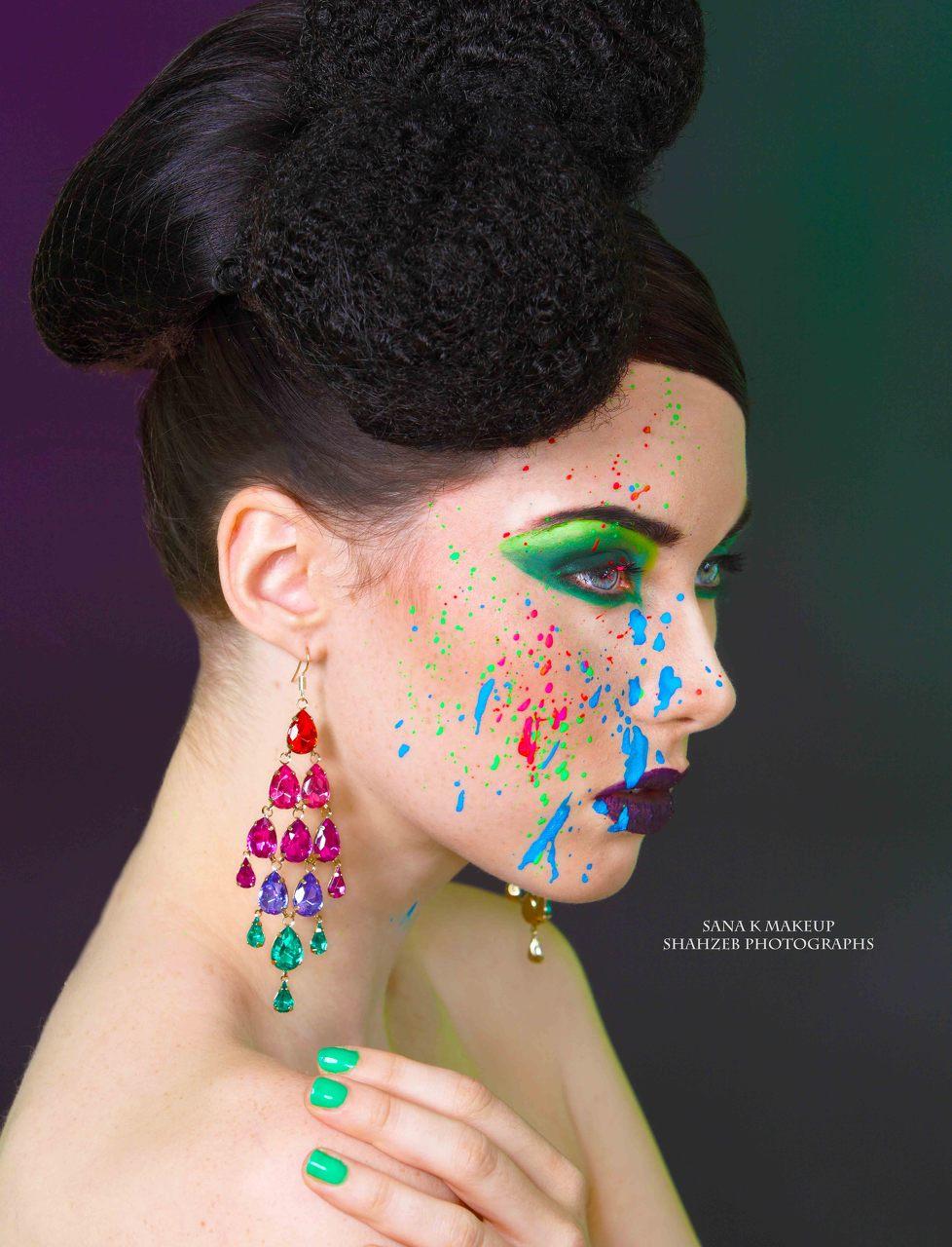 creative hair and makeup artist