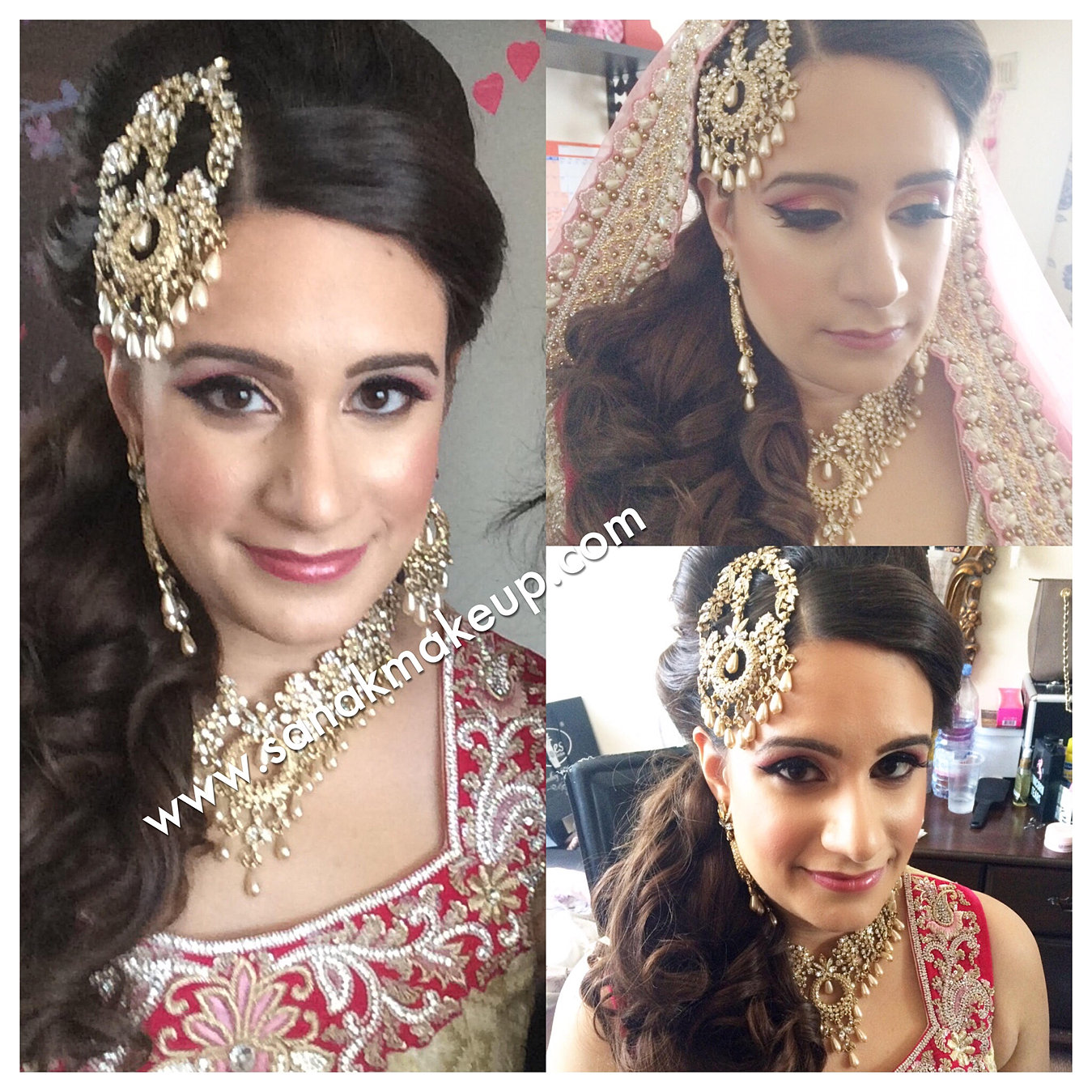asian bridal makeup artist london | asian bridal makeup