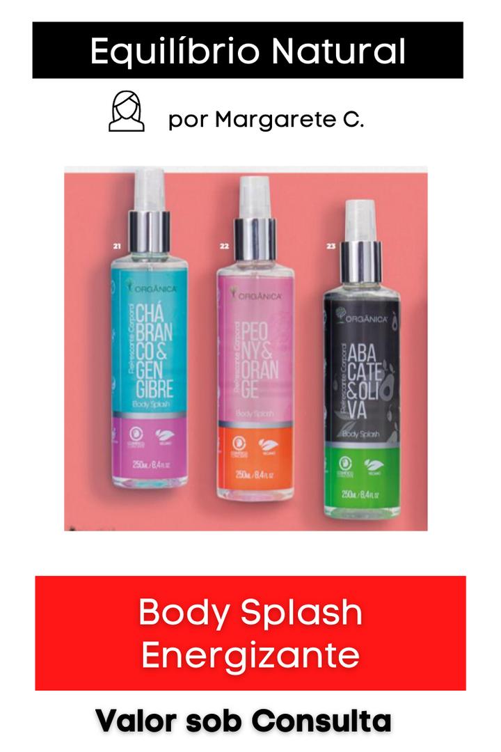 Body Splash Feminino Energizante