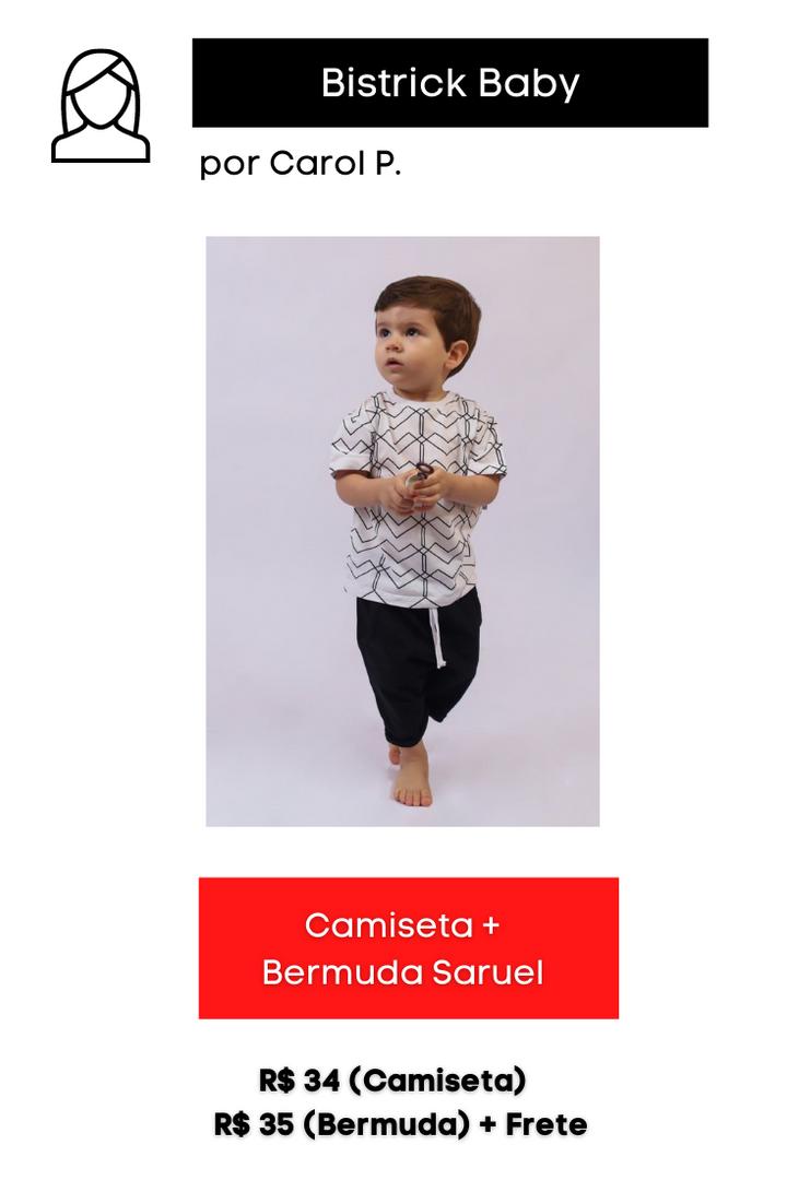 Camiseta + Bermuda Saruel