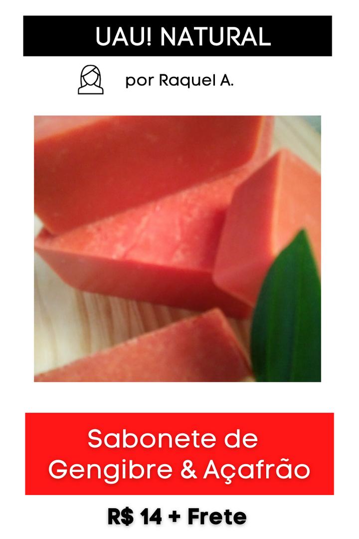 Sabonete de Gengibre & Açafrão