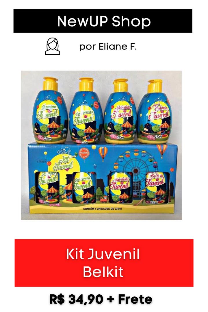 Kit Juvenil Belkit   4 Produtos