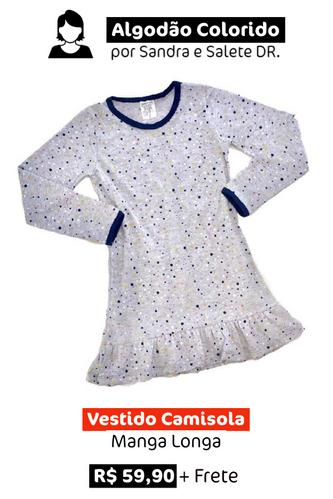 Vestido Camisola | Manga Longa