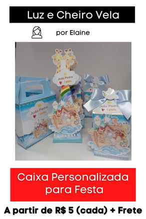Caixa Personalizada para Festa