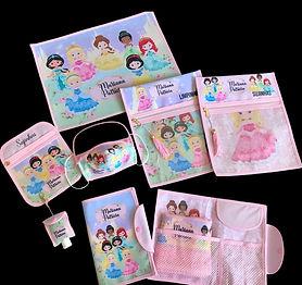 Kit Personalizado Princesas Cute