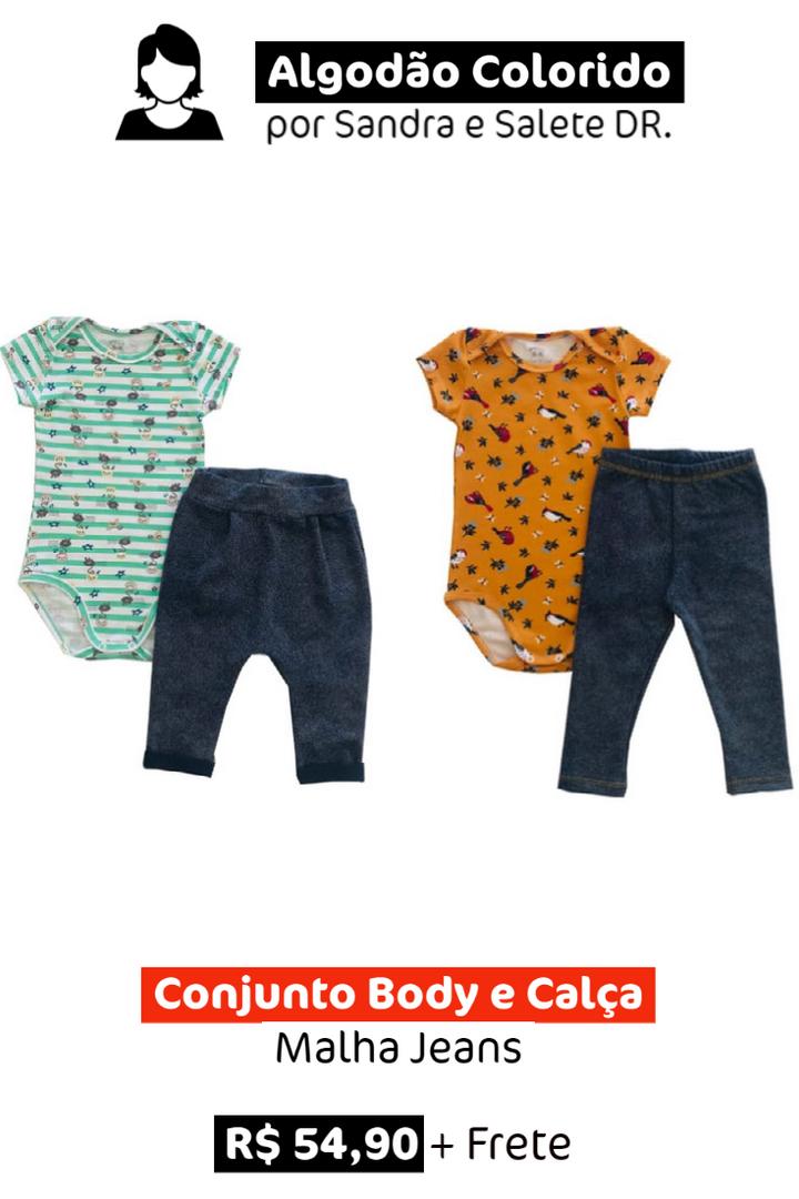 Conjunto Body e Calça
